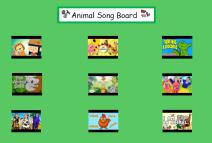 Animal Song Board Image